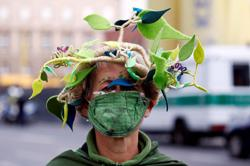Climate activists start protest week for protection of forests in Germany