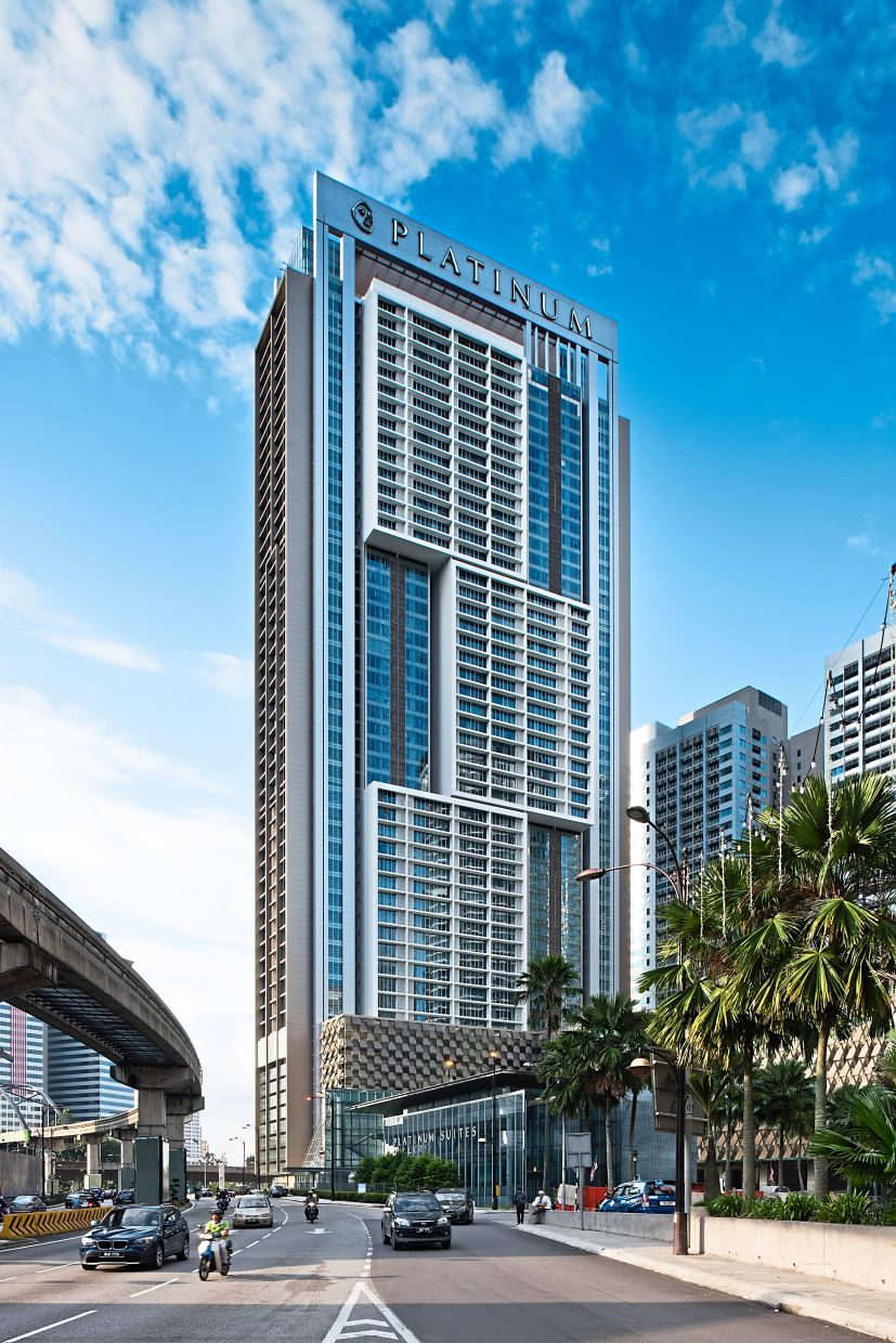 The Face Platinum in Kuala Lumpur by GDP Architects, which received a Commendation in the 2016 PAM Awards in the Multiple Residential High Rise category.
