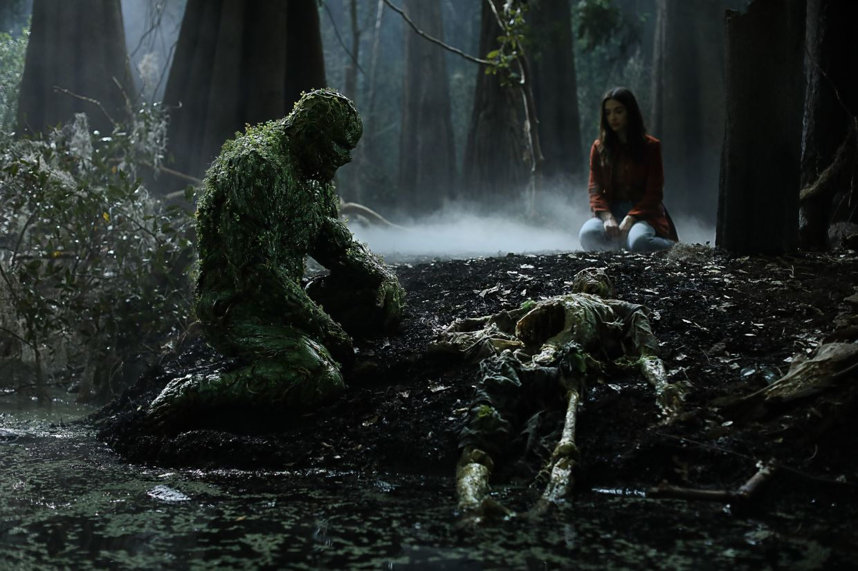 According to the actor, Swamp Thing's best power is his humanity. Photo: Warner TV