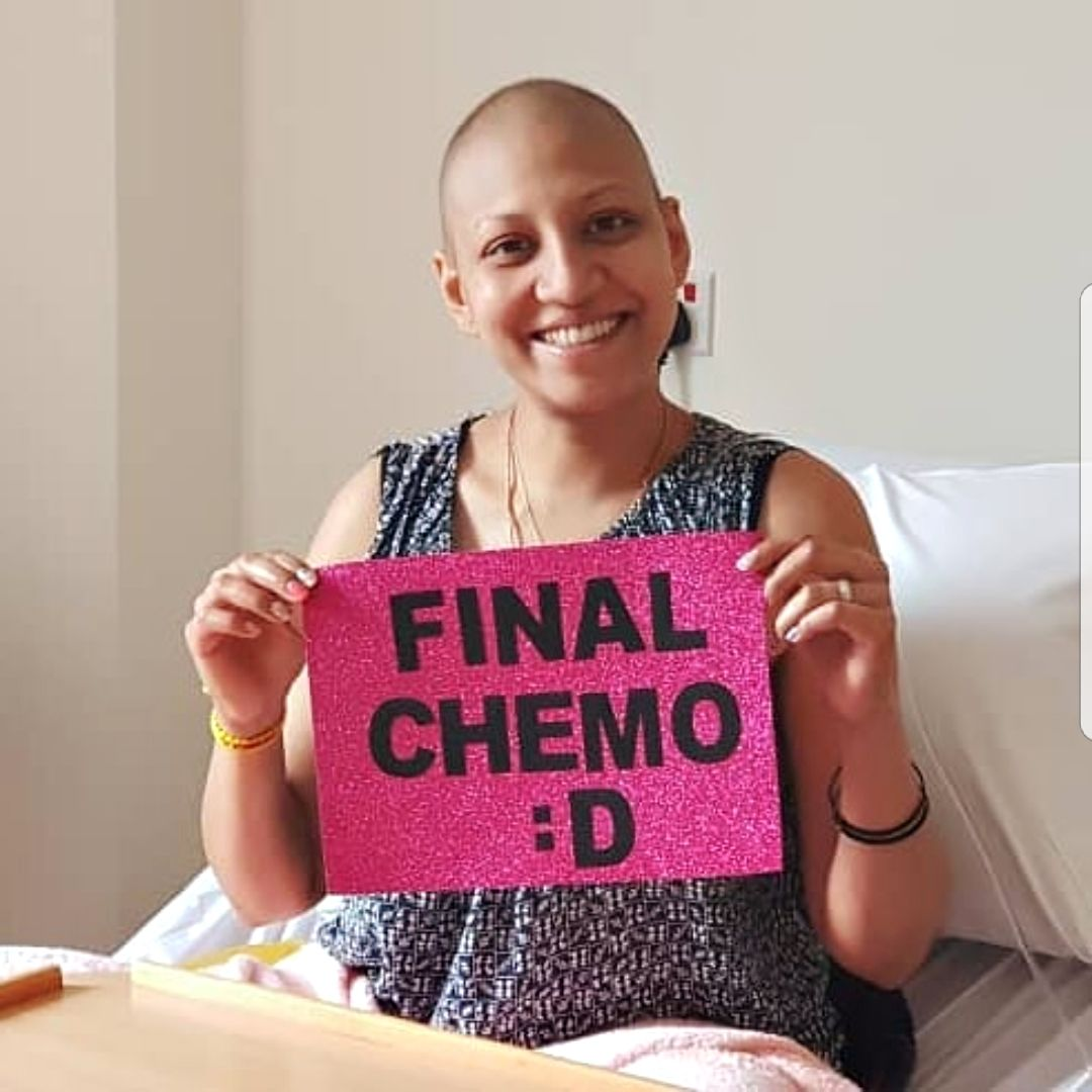 Her 20s were spent going through treatments and dealing with the side effects of cancer. Photo: Navi Indran Pillai