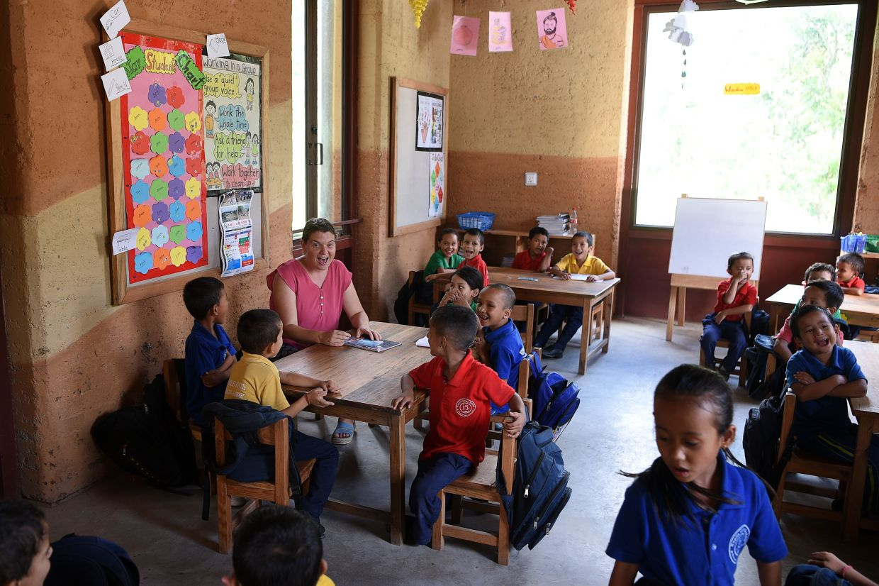 Founded by Doyne in 2008, the home now shelters 54 children.