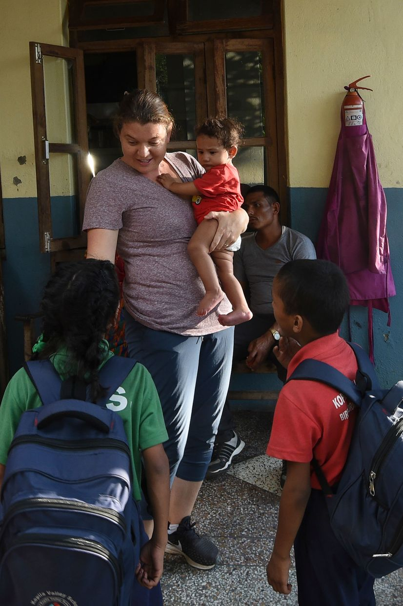 Doyne put her life-savings of US$5,000 (RM20,836) and, along with her Nepali co-founder Top Bahadur Malla, opened the doors of Kopila Valley Children's Home, and then the school.