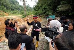 Industrial waste suspected of being illegally dumped in Chepor