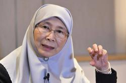 Wan Azizah in hospital, tests negative for Covid-19