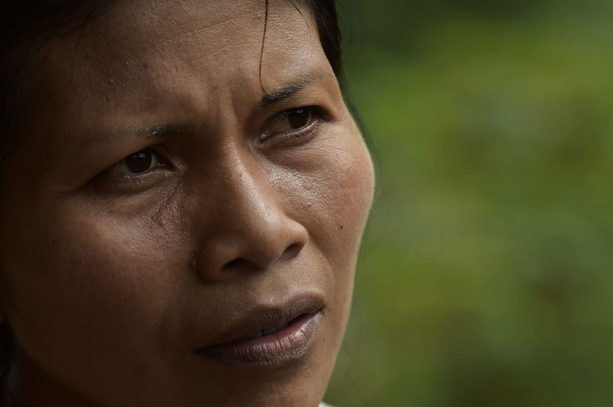 Nenquimo lives in the 180,000 hectares of virgin jungle belonging to her indigenous Waorani tribe