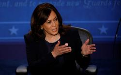 Factbox: Quotes from policy-heavy debate between Kamala Harris, Mike Pence