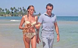 Bikini worn in James Bond film 'Dr. No' could sell for RM2mil at auction