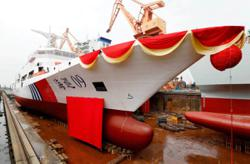 China: Nation's largest marine patrol vessel launched