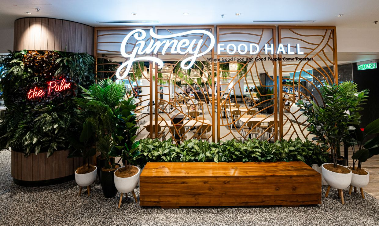 Good food beckons at Gurney Food Hall.