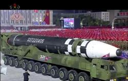 N. Korea unveils 'monster' new intercontinental ballistic missile at parade