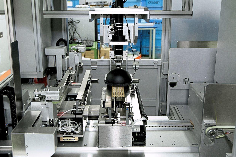 QES manufactures integrated circuit equipment