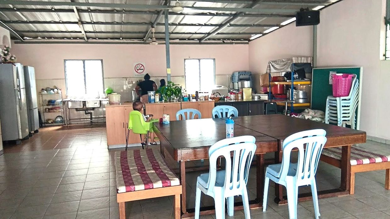 The activity area where most of the residents spend their time during the day. Photo: Rumah Perlindungan Sosial YWCA