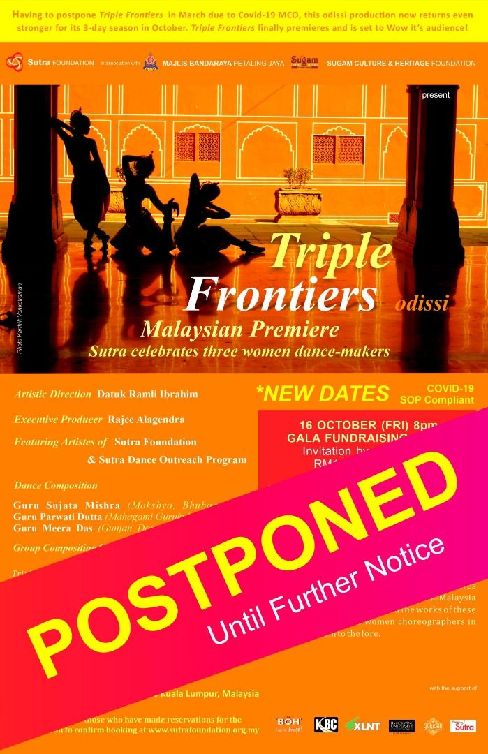 The 'Triple Frontiers' show has been postponed twice now. Photo: Handout