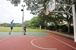 Upgraded basketball court brings cheer to Taman Bukit Maluri folk