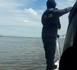 Unregistered cargo vessel, crew members detained offshore Miri