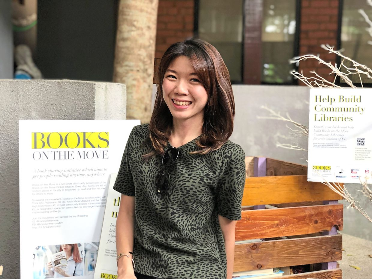 'With the new CMCO we are planning to start sending book mail again and probably stop dropping books for the time being. We will encourage people to stay at home and help flatten the curve,' says Koh. Photo: Handout