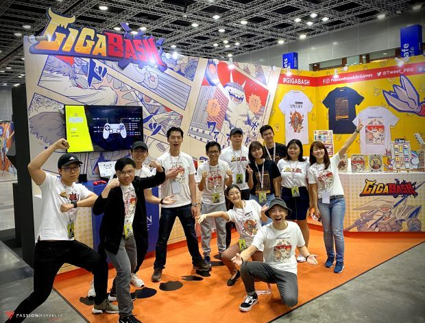 Passion Republic Games' all-Malaysian team that developed GigaBash included graduates from UOW Malaysia KDU