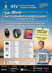 Chance to win prizes for capturing Batu Maung's beauty