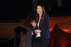 New Zealand's Ardern says she'll step down as party boss if she loses election