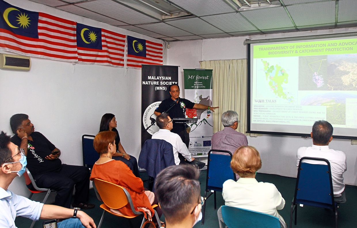 During his presentation of the roadmap, Balu revealed that the society hopes to realise the dream of 10 expeditions and the conservation of five terrestrial and five marine sites.