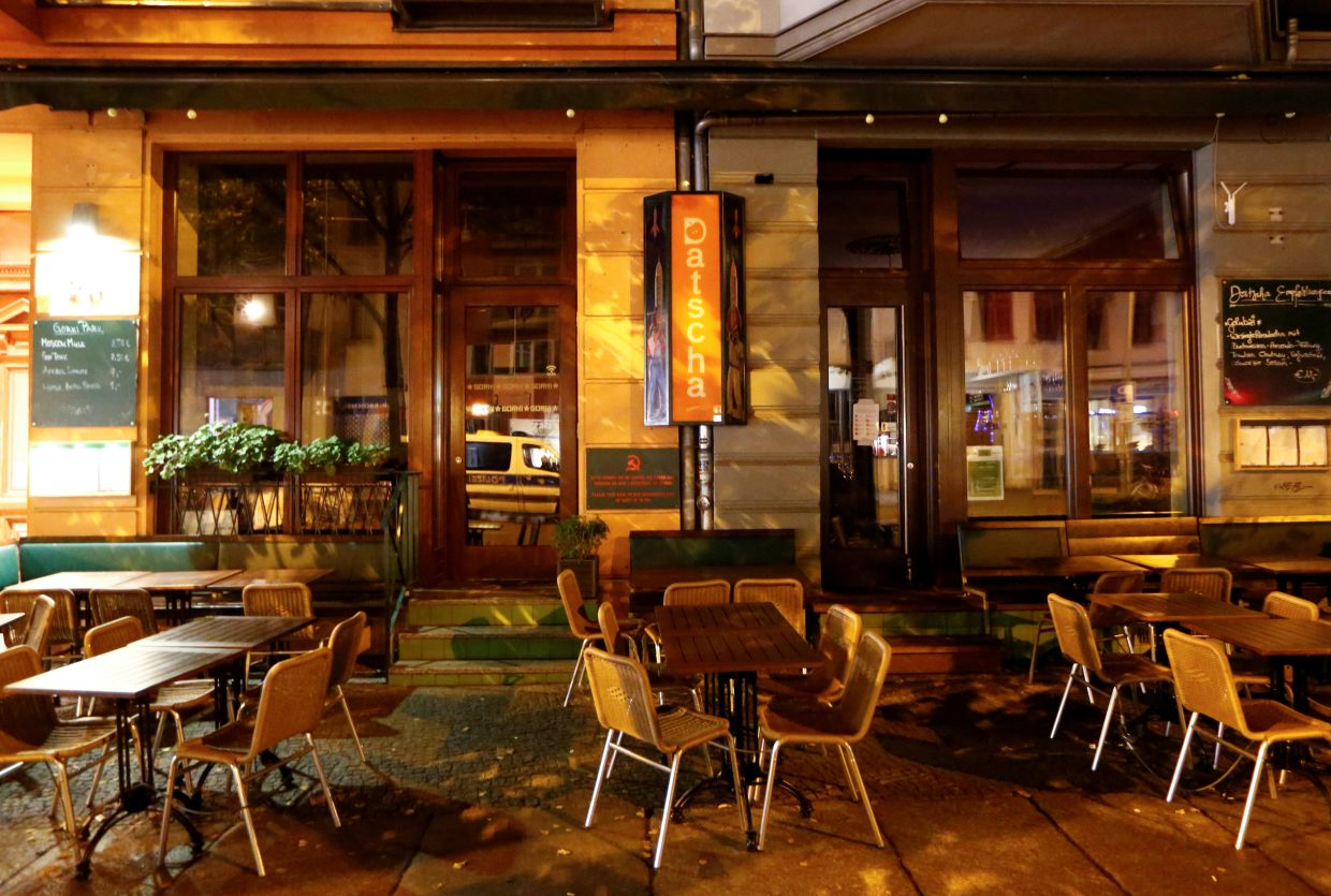 In countries like Germany, outdoor dining has become more common. — Reuters