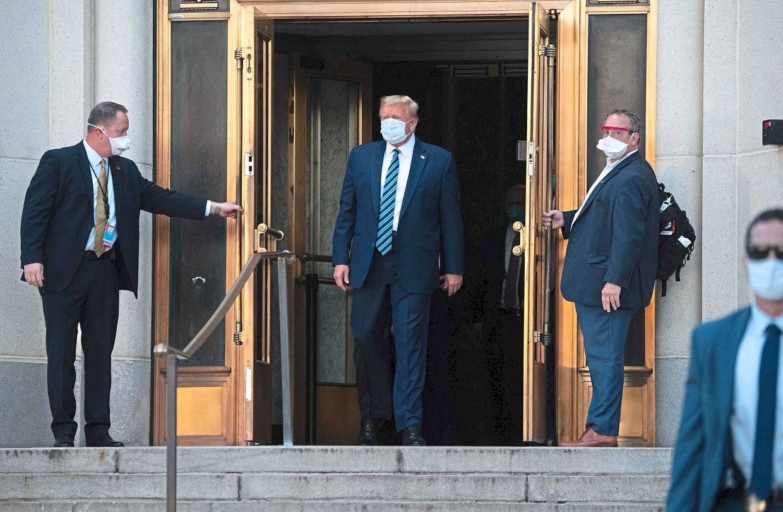The experimental Covid-19 treatment Donald Trump took