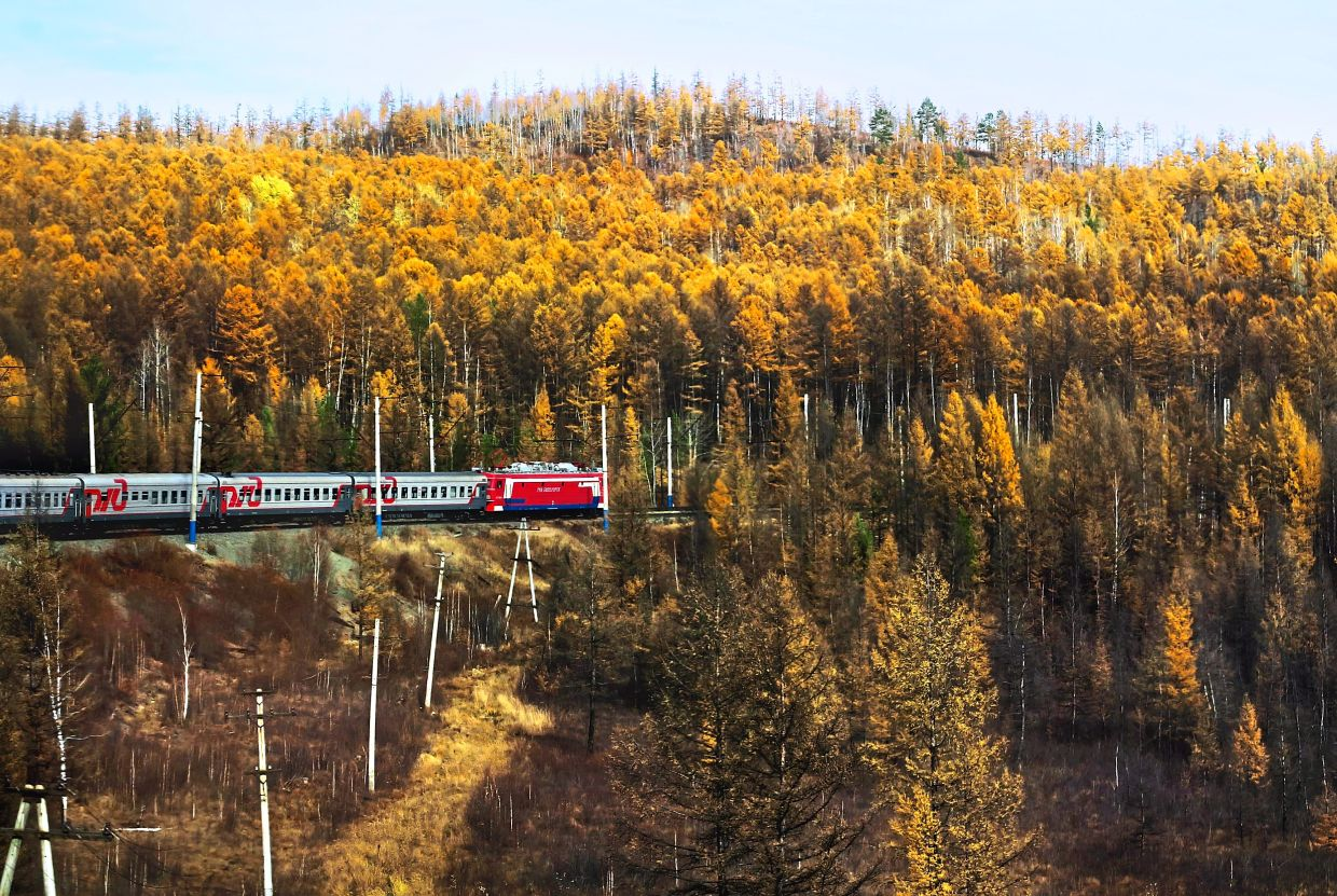 The ever charming 9,288km Siberian rail expedition.