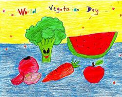 Starchild: Malaysian children love their veggies
