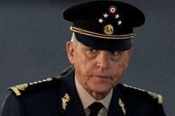 U.S. detains Mexico's ex-defense minister on DEA warrant