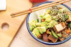 Soy foods like tofu and tempeh are popular plant-based protein alternatives