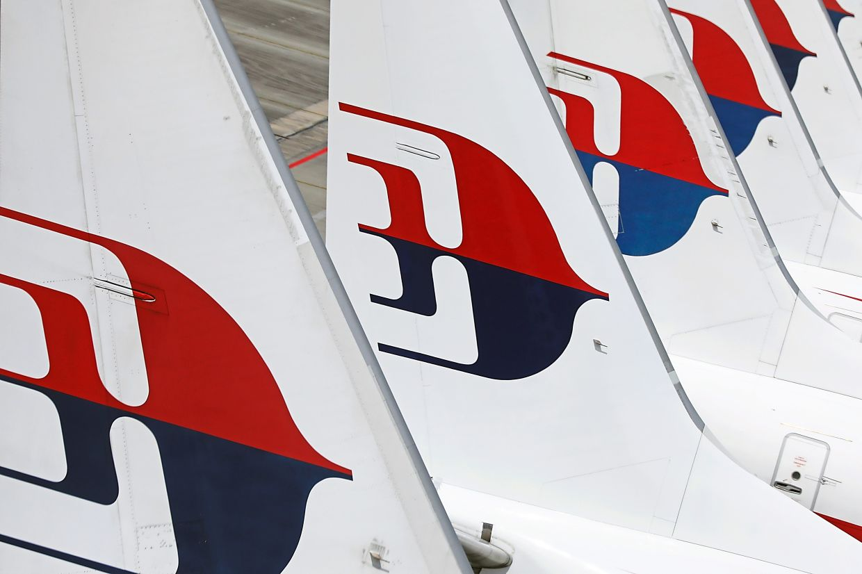 Malaysia Airlines planes are seen parked at Kuala Lumpur International Airport, amid the coronavirus disease (COVID-19) outbreak in Sepang, Malaysia October 6,2020. REUTERS/Lim Huey Teng