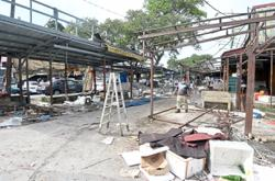Relocation of morning market executed smoothly