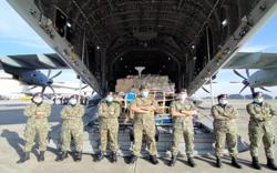 Covid-19: Armed Forces airlift 14 tonnes of medical supplies for Tawau field hospital