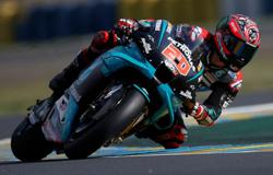 Quartararo storms to Aragon GP pole after practice crash