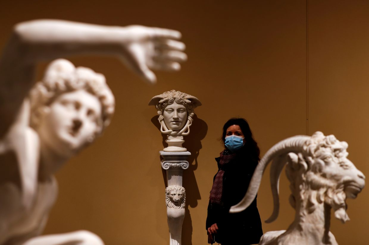 The 'Torlonia marbles' show is set for a tour of Europe and the US before returning to a permanent space in Rome. Photo: Reuters