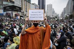 Tens of thousands of Thai democracy protesters take over Bangkok and defy ban for fourth day