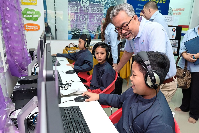 Beyond profit: Celcom has an inclusive digital nation-building aspiration.