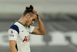 Not a happy homecoming for Tottenham's Bale