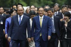 Japan's Suga and Vietnam's Phuc to focus on economic, defence cooperation