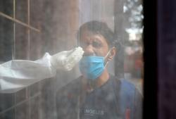 India coronavirus infections rise by 55,722