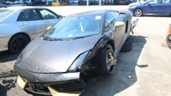 Pair arrested after HK$3.7 million Lamborghini slams into side of Hong Kong flyover