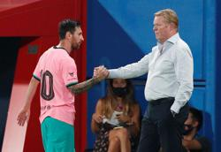 Barca not among Champions League favourites, says Koeman