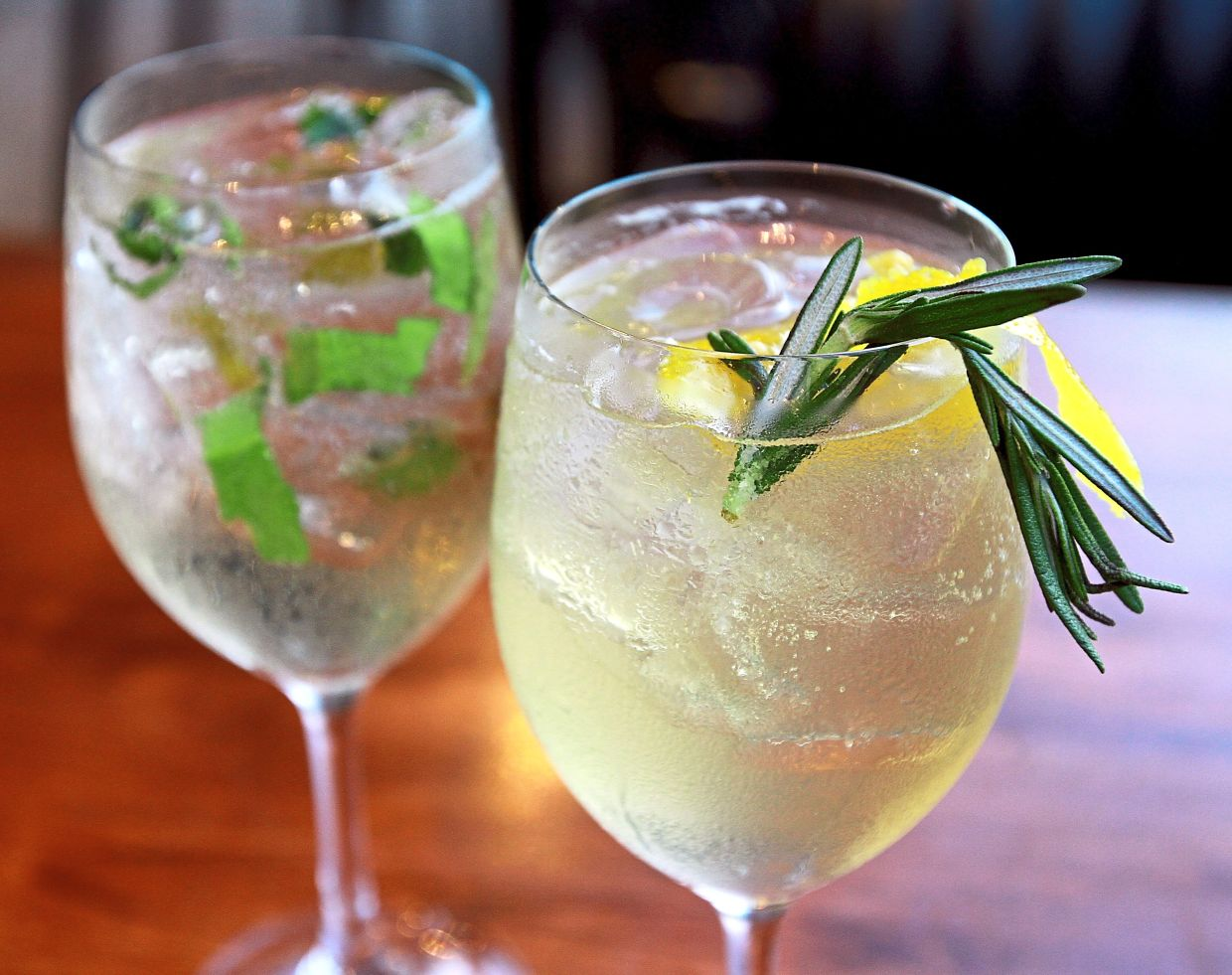 The pub's  version of happy hour offers cocktails with gin as the main ingredient, priced at only RM6 from 3pm to 7pm.