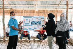 Equipping Orang Asli with Covid-19 prevention kits