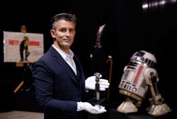 'Star Wars' lightsaber, 'Pretty Woman' boots up for sale in memorabilia auction