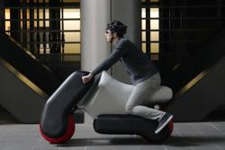 Inflatable scooter looks to the future of mobility