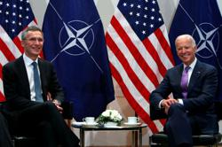 NATO would seek early summit with Biden, if elected, envoys say