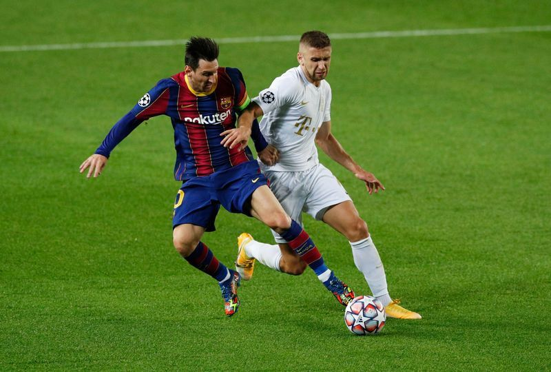 Football Sweet 16 For Messi As Barcelona Thump Ferencvaros The Star