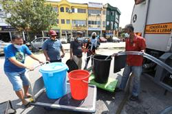 Water supply resuming in stages but residents still fear the worst