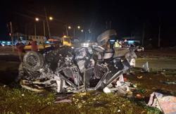 One killed, another seriously hurt in accident near KK airport